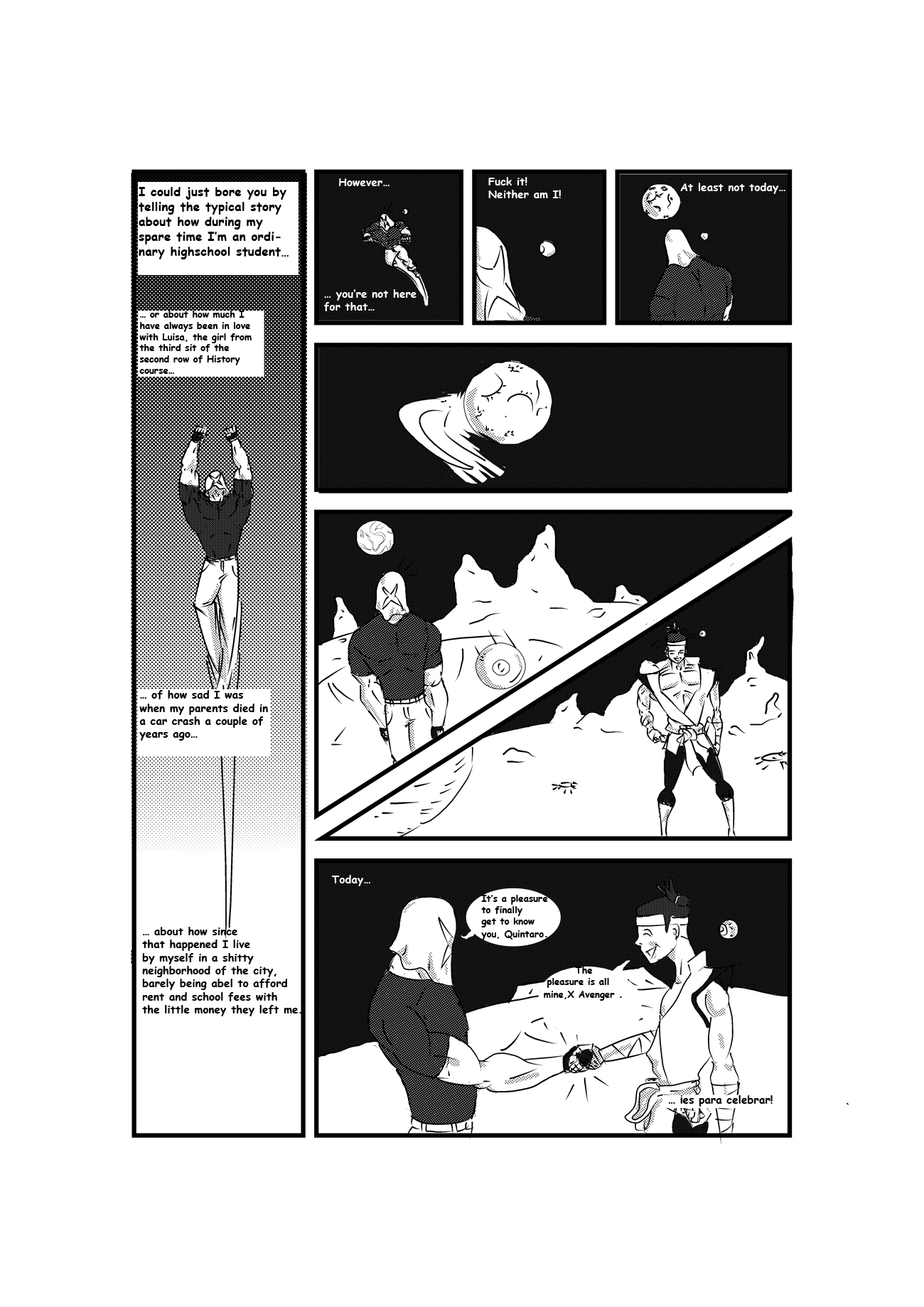 The X Avenger page 2
